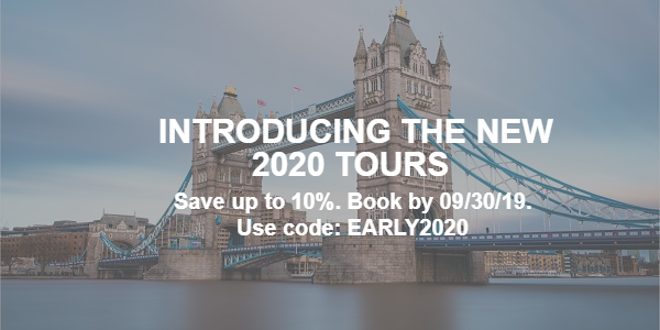 Introducing the New 2020 Tours